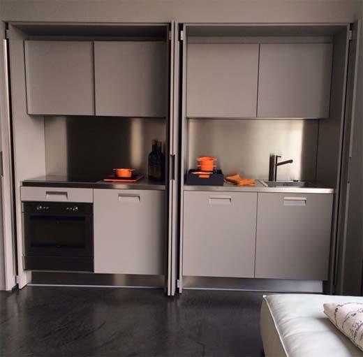 Kleine keuken appartement for Kleine keukens fotos