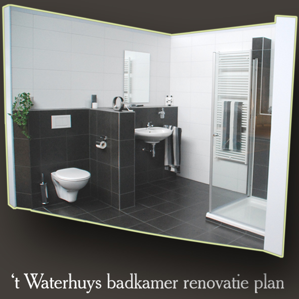 20170404 100041 sanitair plan badkamer - Badkamer lengte plan ...