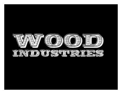 Logo Woodindustries eettafels