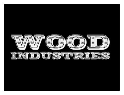 Logo Woodindustries tuintafels