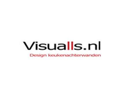 Logo Visualls achterwanden