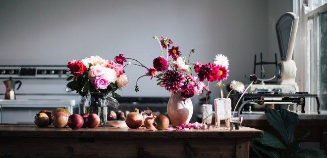 Een huis vol bloemen