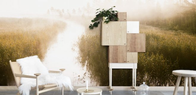Badkamer Idee Natuur : De magische natuur tegen muur nieuws ...
