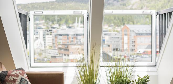 Extra woonruimte met uitklapbaar balkon