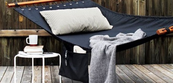 Het leven is goed in een hangmat
