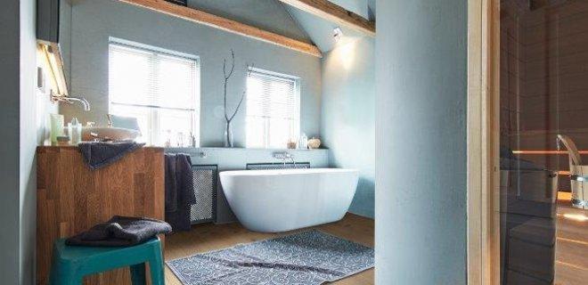 Doen, laminaat in de badkamer