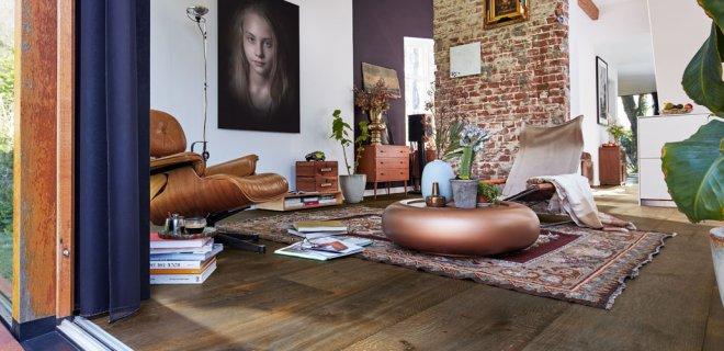 Lindura houten vloeren met brede planken