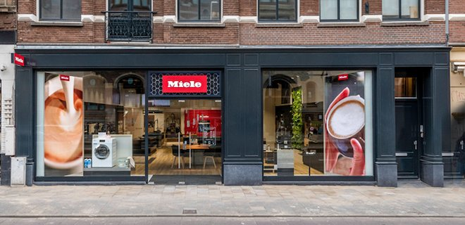 Miele opent Experience Center in hartje Amsterdam