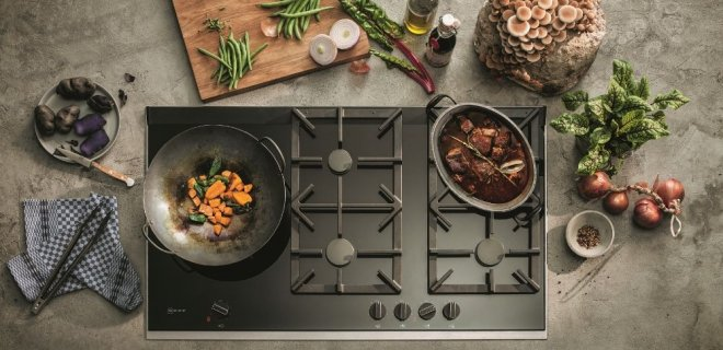 Slim, geavanceerd & hot: NEFF presenteert FlameSelect gaskookplaten