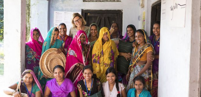 Samenwerking met Indiase vrouwen een succes