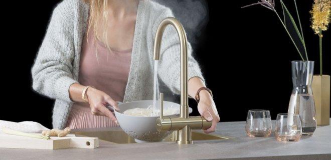 Nieuw! Selsiuz kokendwaterkranen voor elke keuken