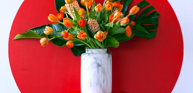 Stylen volgens bloementrend 'Energise'