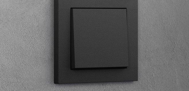 Trend: ook schakelaars in mat zwart