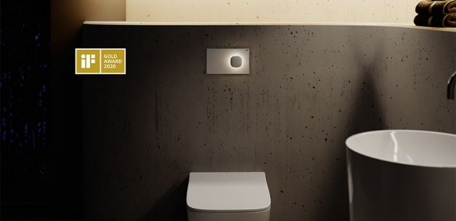 Design voor het toilet: deze WC-bedieningsplaten zijn prijswinnaars