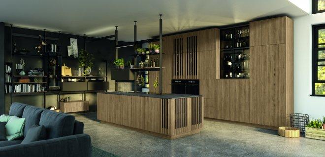 Nieuw! Framesystemen voor een open keuken