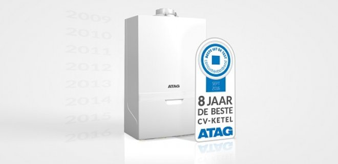 ATAG opnieuw beste cv-ketel van Nederland