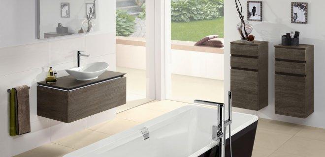 badkamercollectie legato van villeroy boch nieuws. Black Bedroom Furniture Sets. Home Design Ideas
