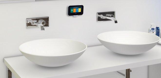 Badkamer gadget: N-Joy waterdicht muzieksysteem