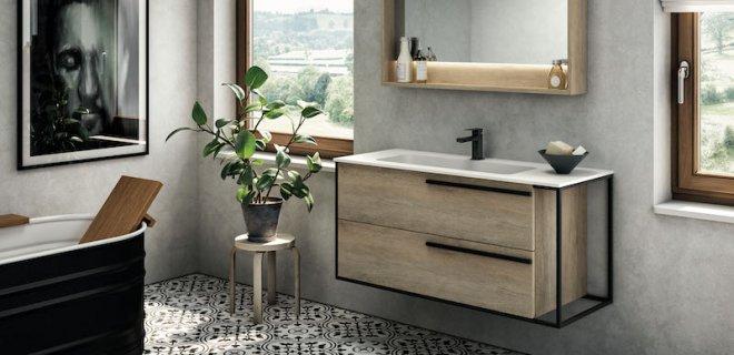 Badkamermeubels voor een industriële badkamer stijl