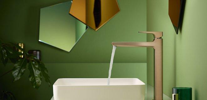Trend: geef je badkamer kleur!