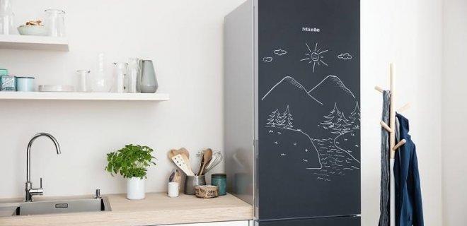 Blackboard Edition koel-diepvrieskast van Miele
