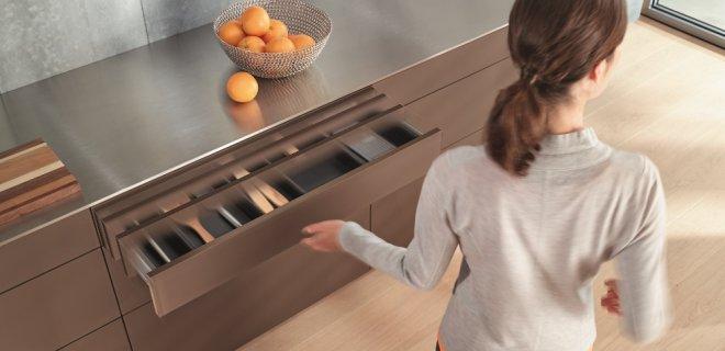 Blum openingstechniek greeploze keuken