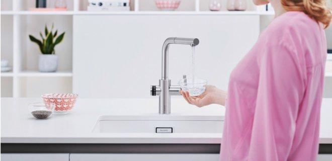 De kraan die hoeveelheden water exact kan afmeten