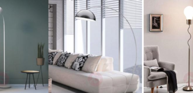De mooiste vloerlampen voor een modern interieur