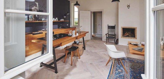De nieuwste houten vloeren van Meister