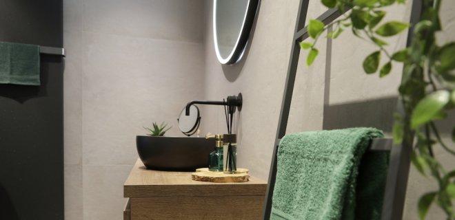 De stijlbadkamer van mijn bad in stijl