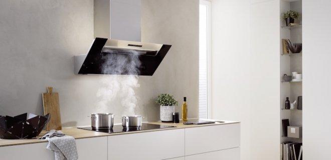 Design voor de keuken - berbel 'hoofdvrije' wandkappen