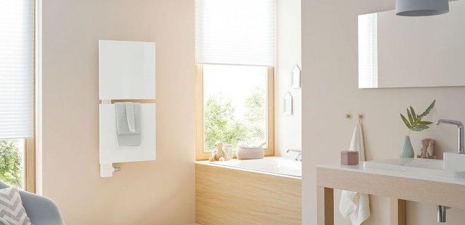 Pure weelde voor de badkamer: de designradiator