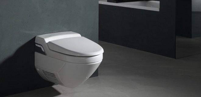 Domotica toilet met wannahave gadgets van Geberit