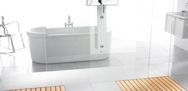 Uitzonderlijk Douchen in stijl met Walk-In houten douchevloer - Nieuws HK77