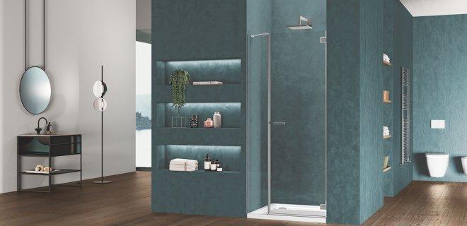 Kies een douchewand bij jouw badkamer stijl
