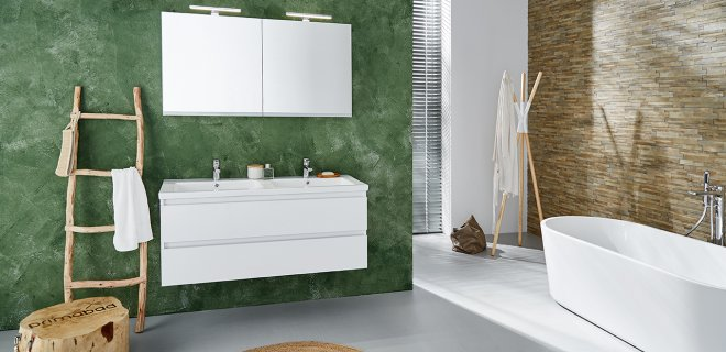 Droombadkamer volgens de laatste trends