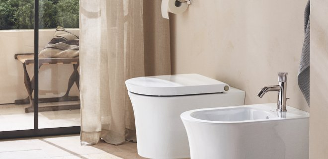 'HygieneFlush' spoelsysteem voor perfecte hygiëne op het toilet