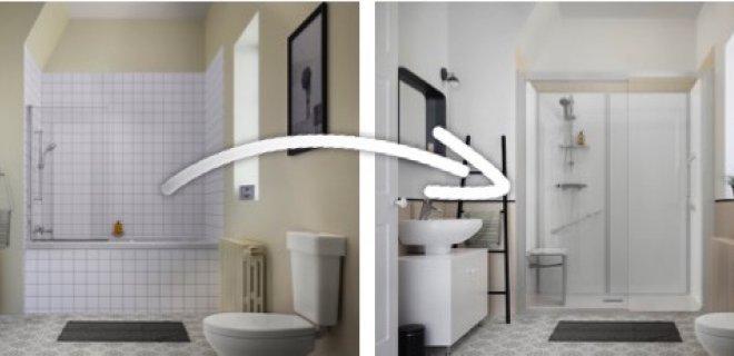 Ideaal: van bad naar douche in 1 dag - Nieuws Startpagina voor ...