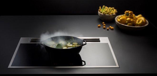 4 X geïntegreerde kooksystemen: kookplaat & afzuiging in één