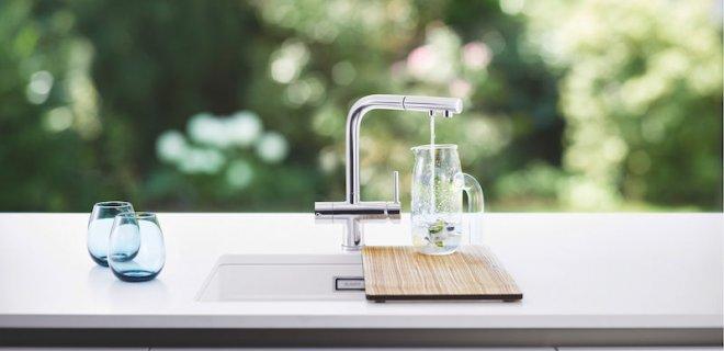 Filtermengkraan: gefilterd drinkwater uit de kraan