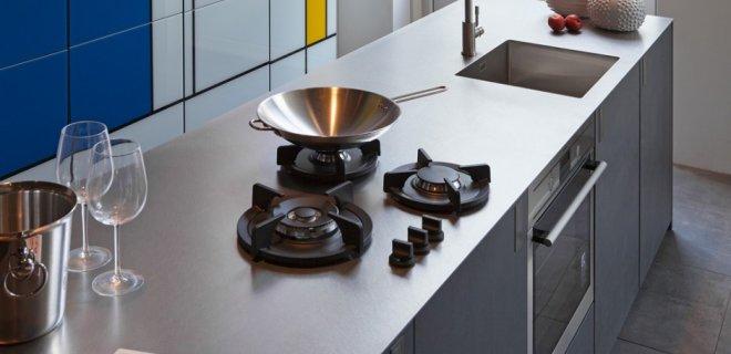 Roestvrijstalen werkbladen voor de moderne keuken