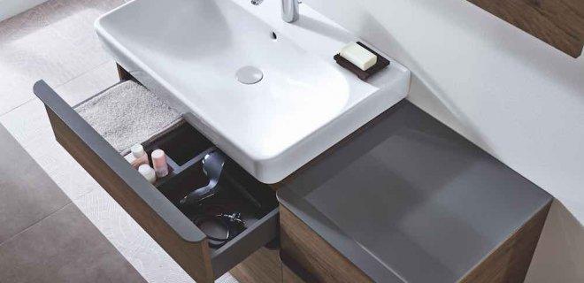 Geberit Smyle: orde in een stijlvolle badkamer