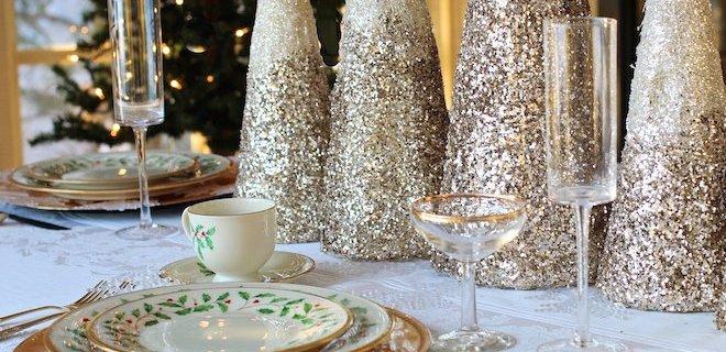 Kerst met een gouden randje