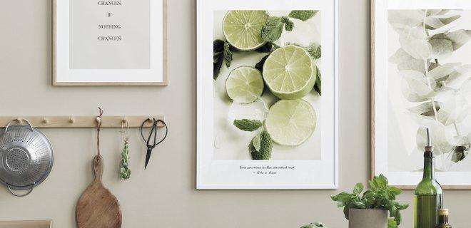 Groene accenten in huis voor frisse lente-vibes