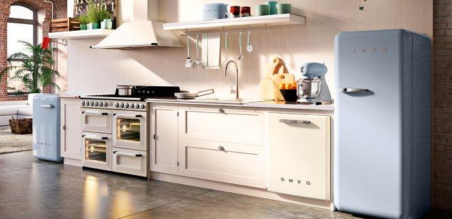 Nieuw design voor de iconische Smeg koelkasten