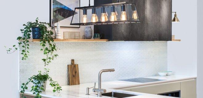 Ideeën voor verlichting in de keuken
