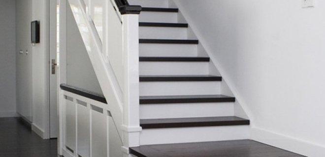 Traprenovatie: in één dag totaal vernieuwde trap
