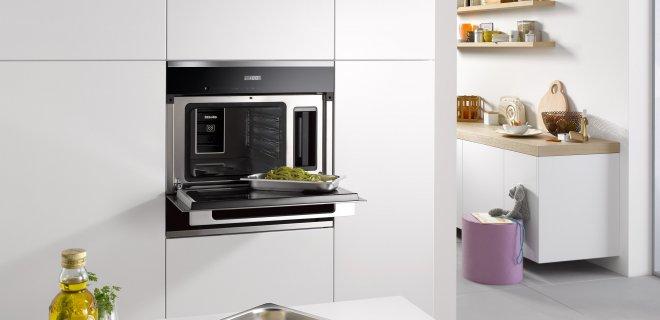 In elke keuken past een stoomoven: 4 X de mogelijkheden