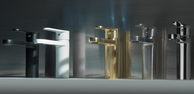 Italiaanse design badkamerkranen van Bongio
