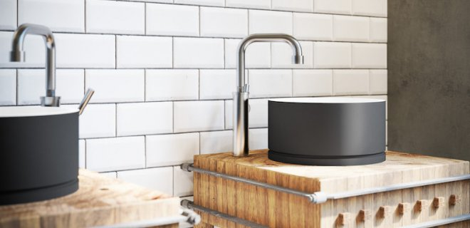 Jee-o RAW: stoere design kranen en douches